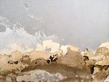 Vernietigde muur Stock Foto's