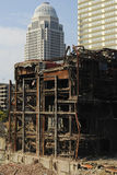 Vernietiging Louisville KY stock afbeelding