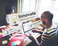 Vernieuw de Aspiratieconcept van de Innovatietechnologische ontwikkeling royalty-vrije stock afbeeldingen