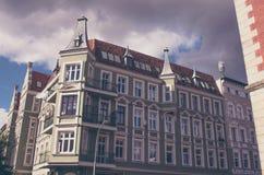 Vernieuw flats in Europen-stad stock foto's