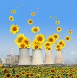 Vernieuwbare energie stock illustratie