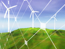 Vernieuwbare energieconcept Royalty-vrije Stock Foto's