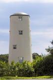 Vernieuwde oude windmolen Royalty-vrije Stock Fotografie