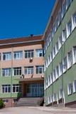 Vernieuwde school stock foto