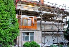 Vernieuwing van huis Stock Foto