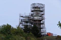 Vernieuwingsvuurtoren Vlieland stock foto