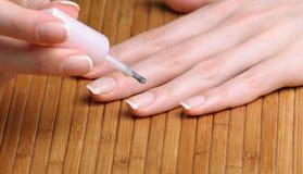 Vernis à ongles Photo libre de droits