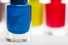 Vernis de clou moderne coloré vibrant photos libres de droits