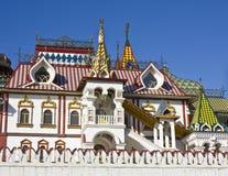 Vernisage van Izmaylovo, Moskou royalty-vrije stock afbeelding