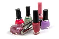 Verniz para as unhas colorido Imagem de Stock Royalty Free
