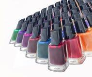 verniz para as unhas colorido, grande Imagem de Stock