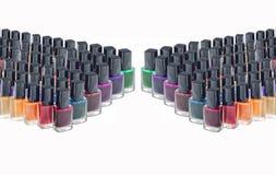 Verniz para as unhas para salões de beleza Imagem de Stock