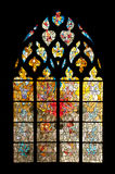 Vernon cathedral window Stock Photography