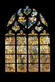Vernon cathedral window Royalty Free Stock Photography