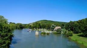 Vernon - Frankrike Arkivfoto