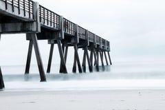 Vero Beach Pier imagenes de archivo