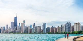verão em Chicago Imagens de Stock Royalty Free