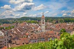 Verão em Schaffhausen Imagem de Stock