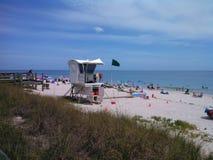 Vero plaża Fotografia Stock