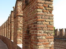 Verona - średniowieczny kasztel Zdjęcie Royalty Free
