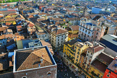 Verona from above Royalty Free Stock Images
