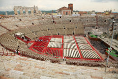 Verona Arena Stock Images