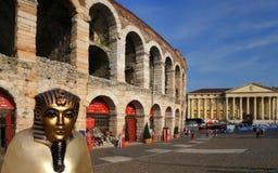 Verona arena Fotografia Stock