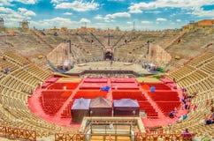 Verona Arena Photos libres de droits