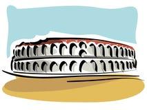 Verona Arena ilustração stock