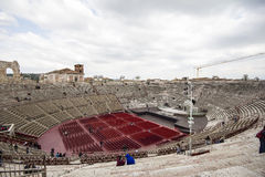 Verona Arena (Arena di Verona) Italy Royalty Free Stock Photo