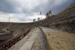 Verona Arena (arenadi Verona) Italien Royaltyfria Bilder