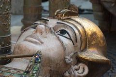 Verona, arena: estatua para Turandot Imagen de archivo libre de regalías