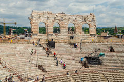The Verona Arena, Italy Stock Photography