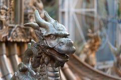 Verona, Arena: mannetjeseend standbeeld voor Turandot royalty-vrije stock foto