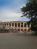 Verona Arena roman amfiteater Royaltyfri Foto