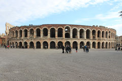 Verona Arena Roman Amphitheater Stock Image