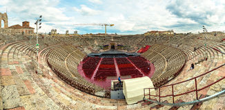 The Verona Arena Stock Photo