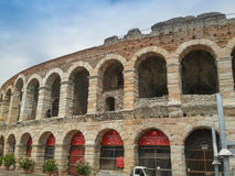 Verona Arena roman amphitheatre Stock Photo