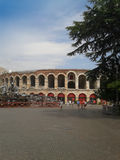 Verona Arena roman amphitheatre Royalty Free Stock Photo