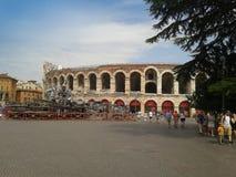 Verona Arena roman amphitheatre Stock Photos