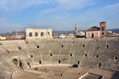 Verona Arena, symbol of the city Stock Photos