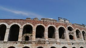 Verona Arena a Verona in Italia Immagini Stock Libere da Diritti