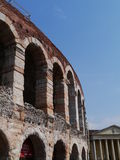 The Verona Arena in Verona in Italy Stock Photos