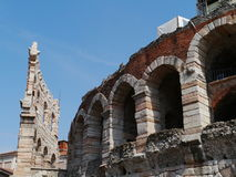 The Verona Arena in Verona in Italy Stock Photography