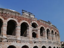 The Verona Arena in Verona in Italy Royalty Free Stock Images