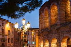 The Verona Arena Stock Photography