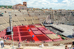 Verona arena, Włochy Obraz Royalty Free