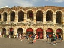 Verona areny rzymski amphitheatre Fotografia Stock