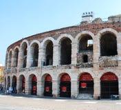 Verona areny sławny rzymski amphitheatre, Włochy obraz royalty free