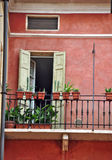 Verona balcony Royalty Free Stock Image